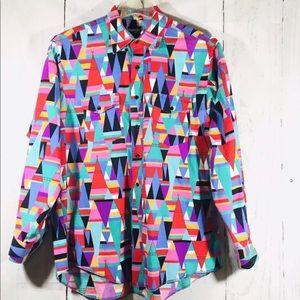 Wrangler Men's Shirt Vintage TeePee Design